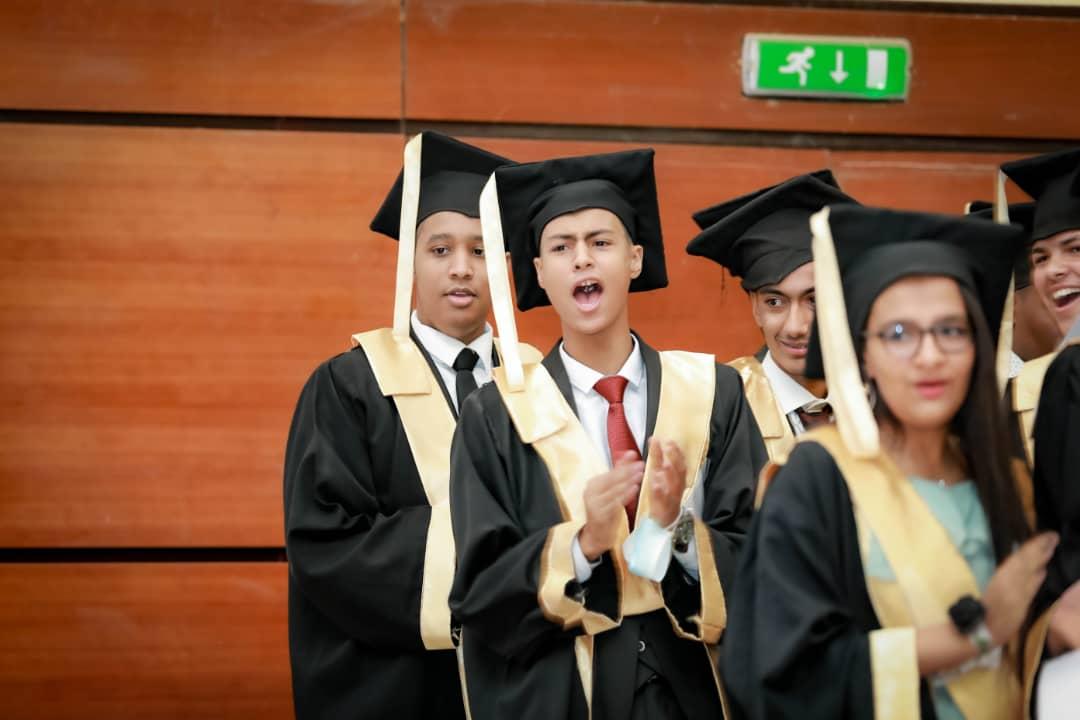 Warmest congratulations on your graduation.